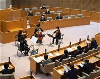 群馬県議会開会 予算案など104議案提出 山本知事「コロナ長期戦戦い抜く」 議場で群響…