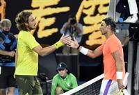 チチパス、ナダル破り4強 全豪テニス