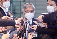 首相、黒田日銀総裁と会談 経済情勢で意見交換