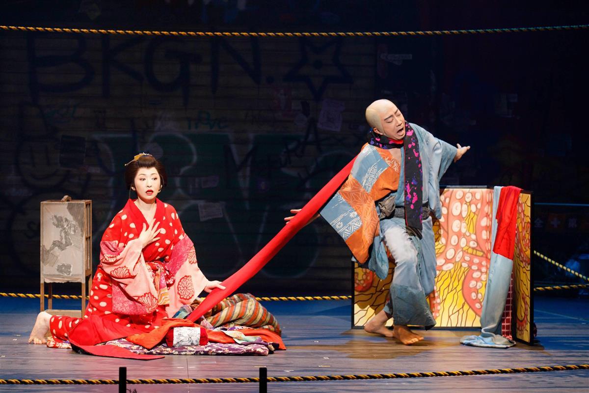 【鑑賞眼】PARCO劇場「藪原検校」 タブーなき異種格闘技の…