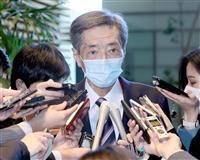島根知事の聖火リレー中止発言 自民・竹下氏「不用意で注意する」