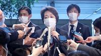 橋本氏、五輪組織委会長受諾を首相に報告 五輪相の辞表提出