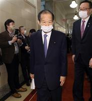 自民・二階氏「腹割って話そう」 駐日韓国大使と面会
