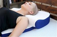 背中から支える枕、それは新感覚の寝心地
