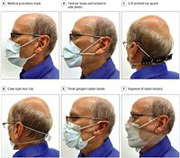ストッキングが最大効果 感染防止のマスク着用法 米研究チーム
