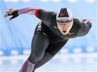 男子500メートルで新浜立也が34秒43 スピードスケート非公式記録会