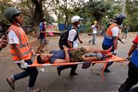 ミャンマーで治安部隊が銃撃、デモ隊2人死亡 犠牲3人に