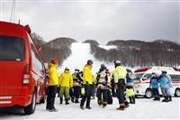 青森の雪崩、女性1人死亡 スキー場周辺でスノボ