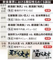 深夜行列の天ぷら店が提訴 SNSでも誤解招くそっくり店