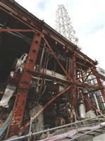 当時のままの建物、無機的な風景、解体進むフランジタンク…大事故から10年 福島第1原発…