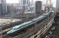 仙台-一ノ関で運転再開 東北新幹線、地震から復旧