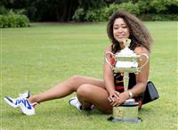大坂が全豪Vで2位浮上 女子テニス22日付世界ランク