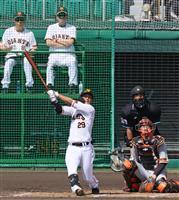 「もっとがむしゃらにアピールしていく」と吉川 主力初参加の紅白戦で本塁打