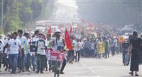 ミャンマー国軍、NLD弾圧強化 幹部相次いで拘束、「ポスト・スー・チー」不在で苦境