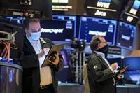 NY株続伸、27ドル高 景気期待、金利上昇警戒も