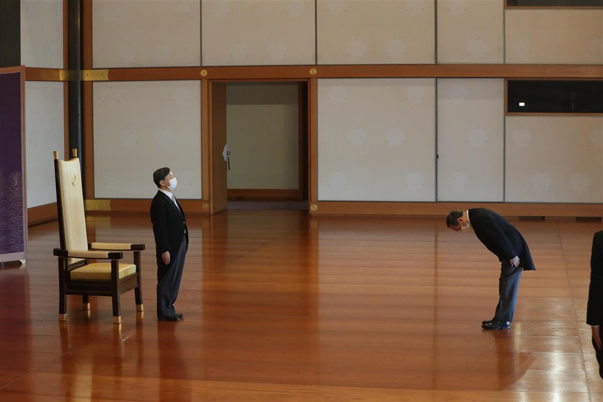 天皇陛下、皇居で61歳の祝賀行事に臨まれる コロナ禍で規模縮小