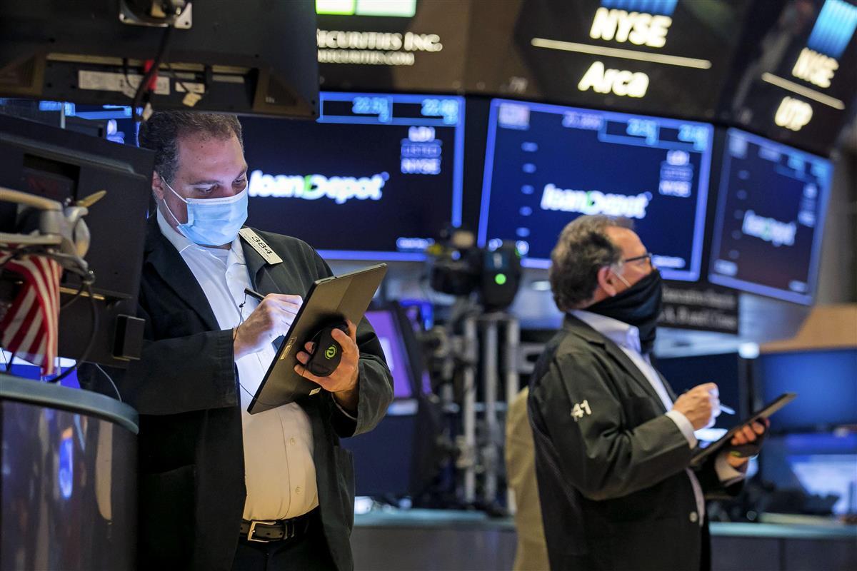 米ニューヨーク証券取引所=22日(AP)