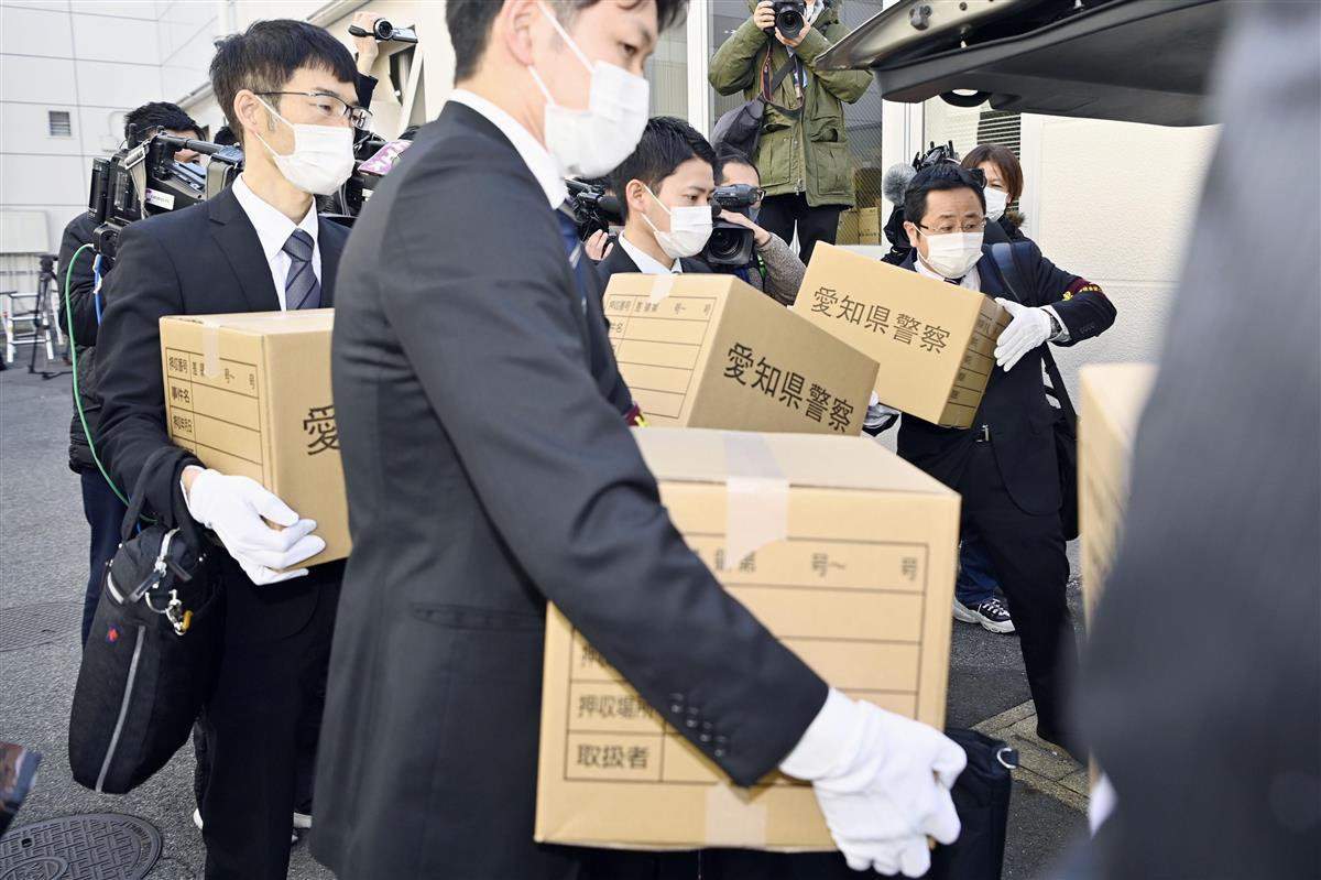 署名簿回収始める、愛知県知事リコール巡る問題