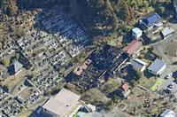 青梅の山林火災、鎮圧 消防や自衛隊、活動続く