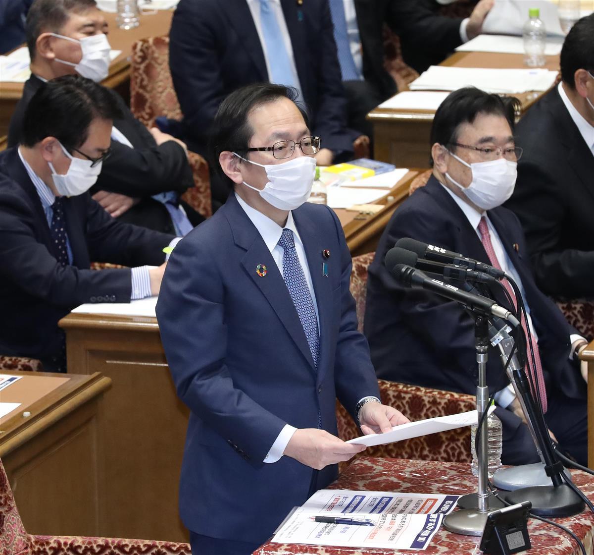 公明党・竹内譲政調会長(春名中撮影)