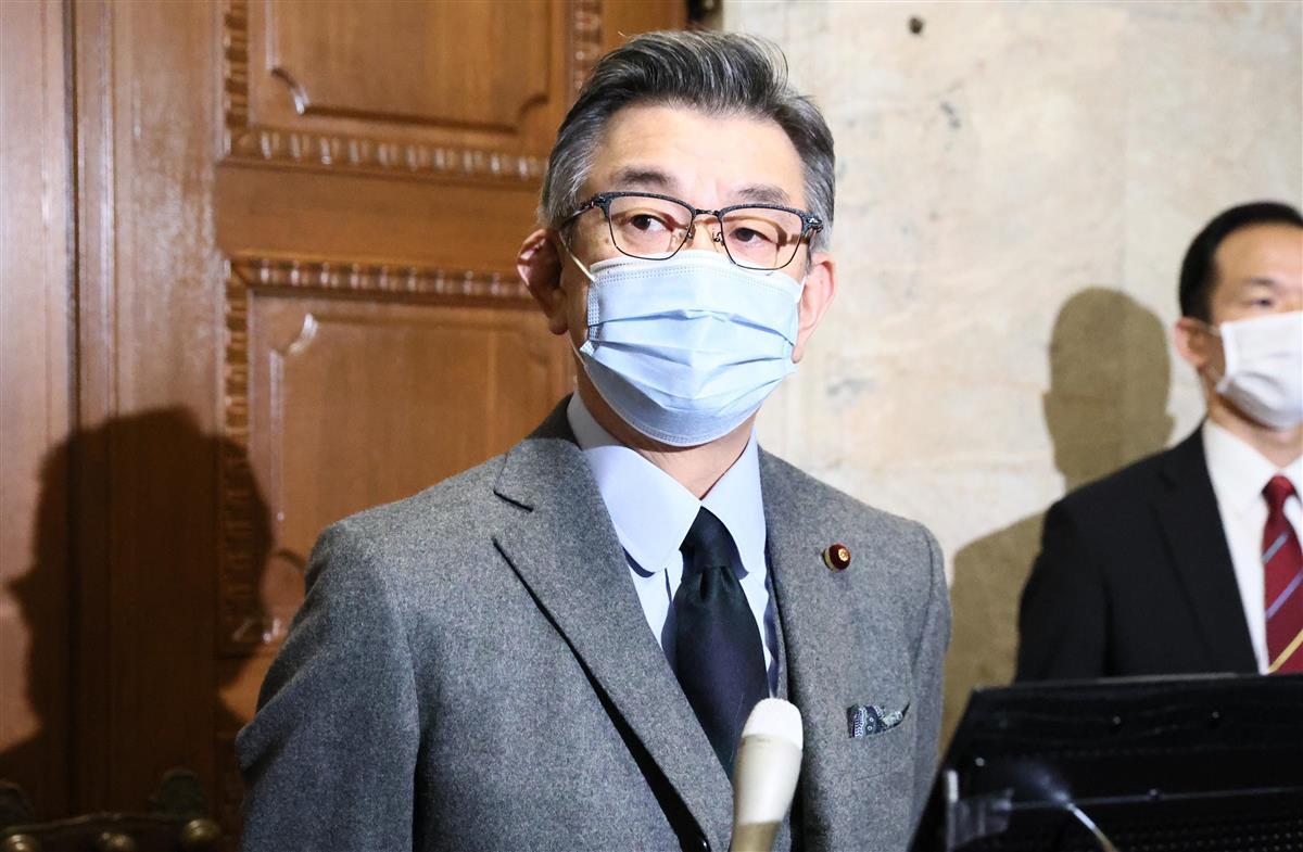 武田総務相、愛知県リコール不正「真相究明徹底を」