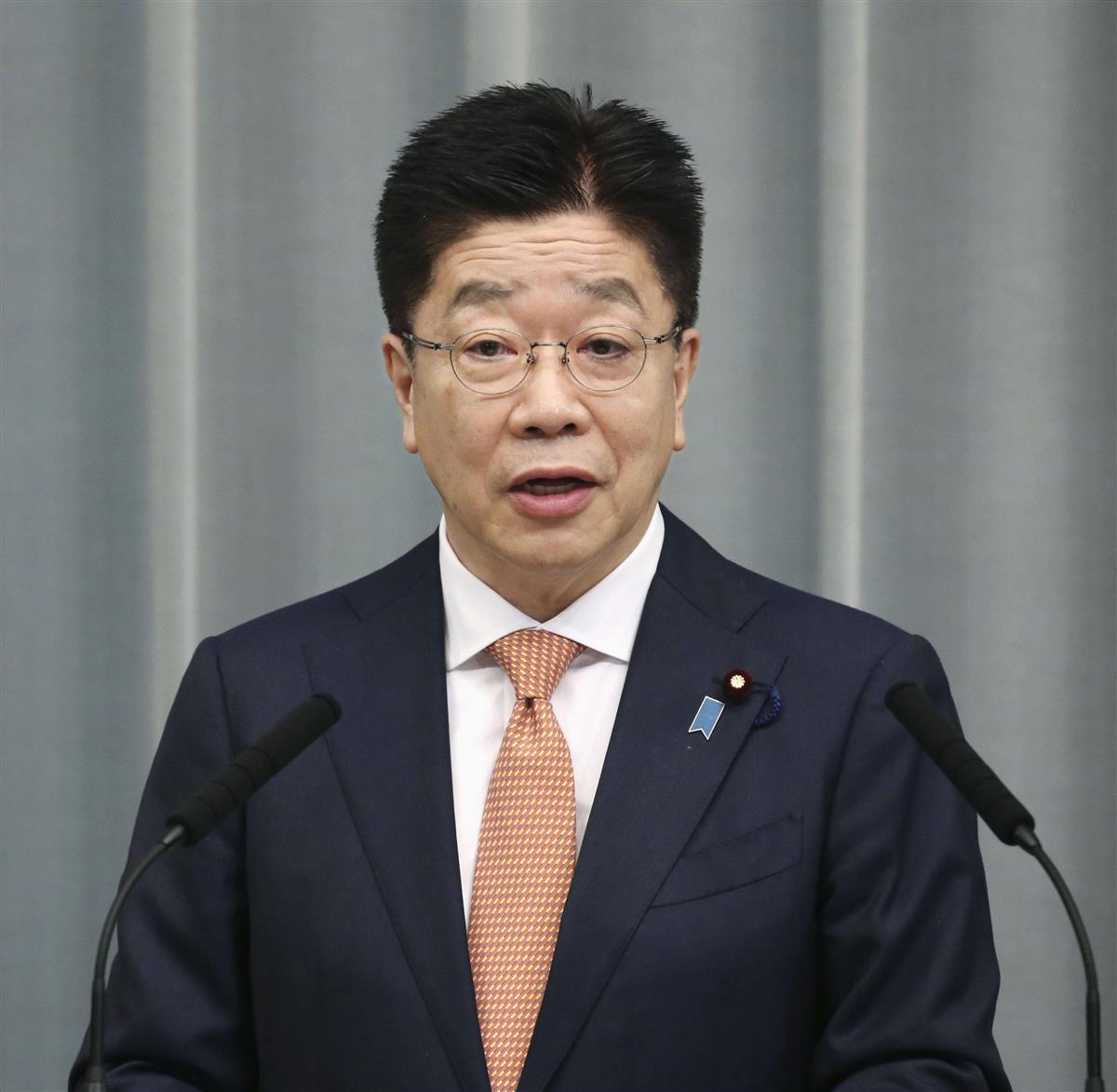 加藤官房長官、高額接待で山田内閣広報官を厳重注意「甚だ遺憾」…