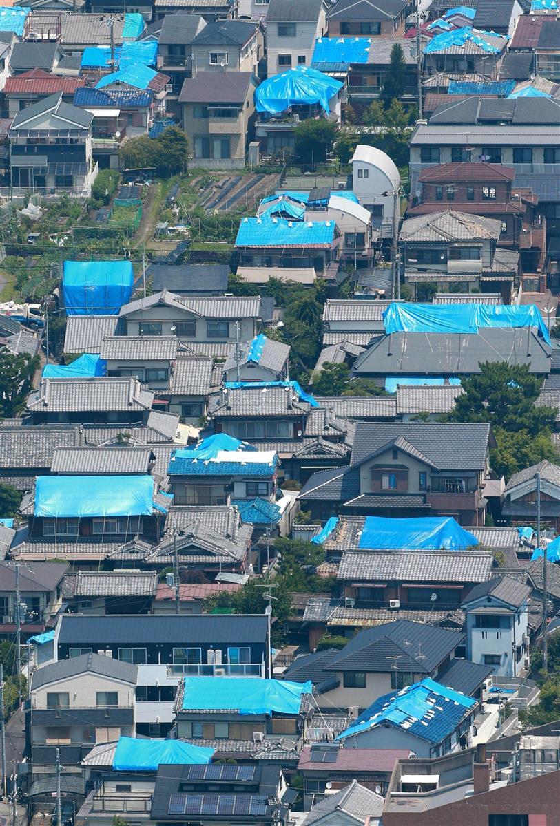平成30年に発生した大阪北部地震。阪神大震災の余震の可能性も=大阪府茨木市