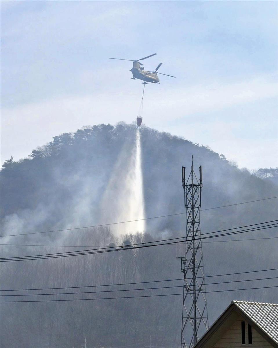 加藤官房長官、栃木の山林延焼「早期消火へ支援」