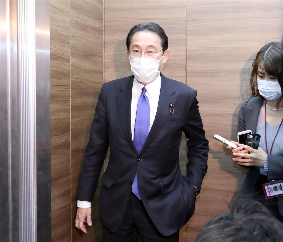 自民・岸田前政調会長、新型コロナワクチン「国内開発の努力進め…