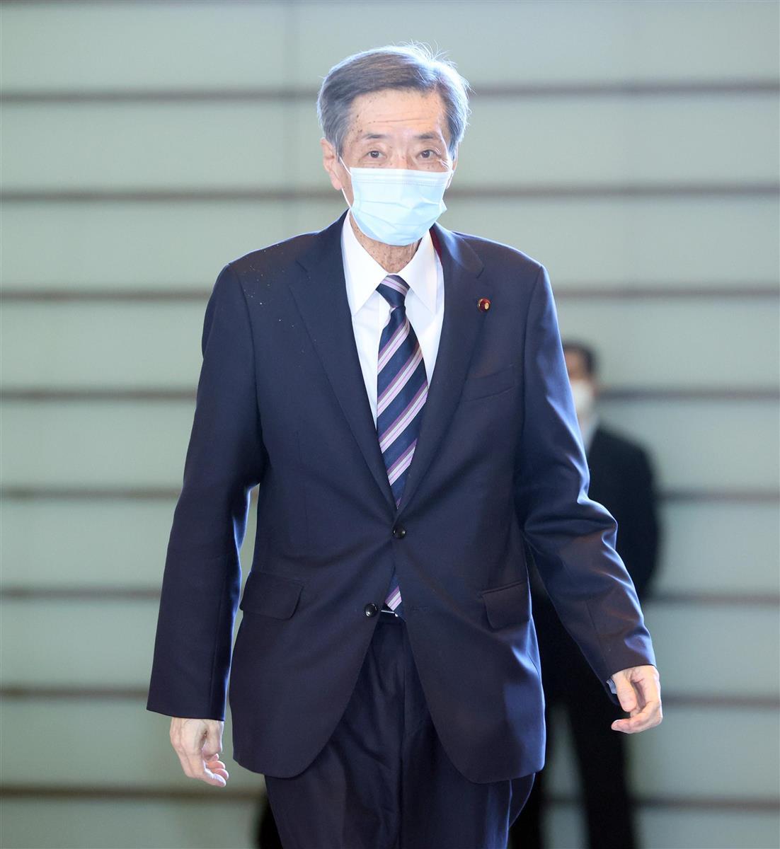 自民党・竹下亘氏(春名中撮影)