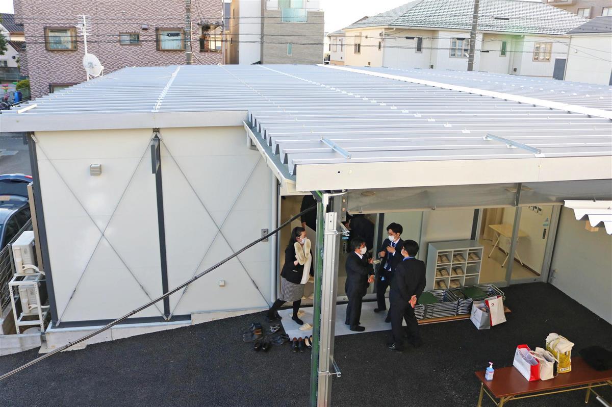 埼玉の医療機関、コロナ専門病棟公開 院内感染抑止へ「区分け」…
