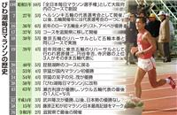 好タイム出やすい東京に選手集中 びわ湖毎日が歴史に幕