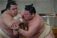 阿武咲、白鵬に10勝20敗「楽しかった」 6日間の大相撲合同稽古終了