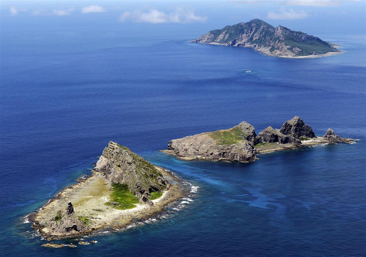 尖閣周辺に中国船 13日連続