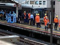 巻き添えの乗客は骨折か 運転席との仕切りガラスも破る 神戸・元町駅