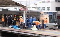 「やばい、やばい!」響く悲鳴で朝のホーム騒然 神戸の飛び込み事故
