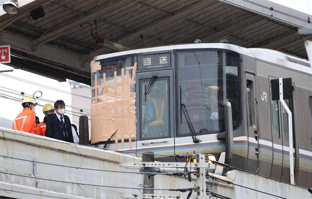 新快速電車飛び込みの男性が死亡 神戸・元町