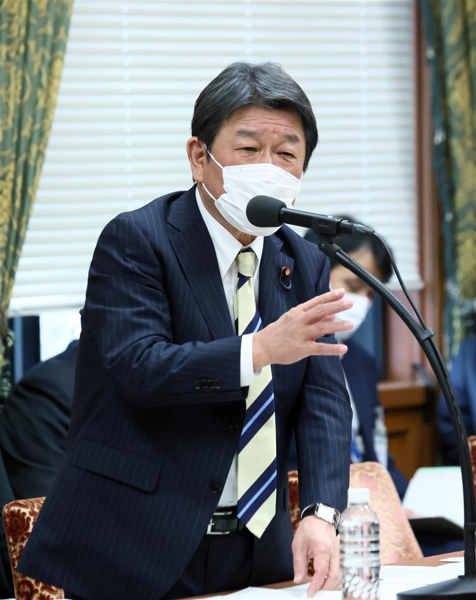 茂木外相「五輪は人権擁護推進の機会」