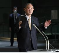 菅首相、記者団に「同じような質問ばかり」