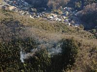 無関係のドローン…山林の消火活動中断 足利市長「絶対やめて」