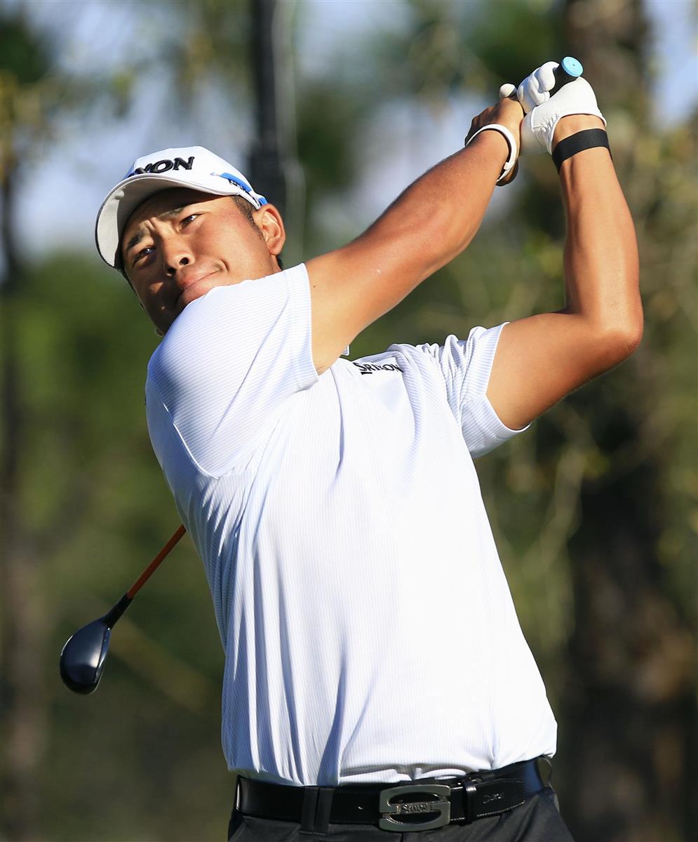 松山66で5打差12位 稲森20位 世界選手権ゴルフ第2日