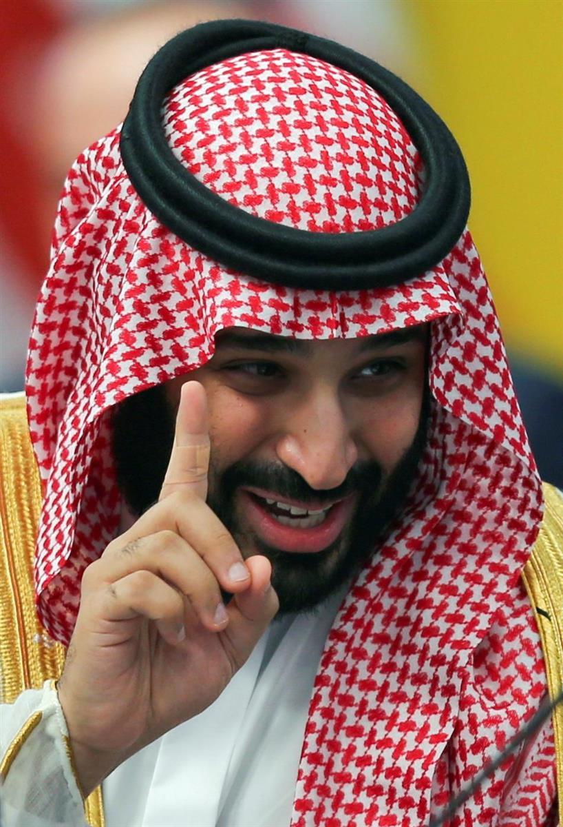 サウジアラビアのムハンマド皇太子=2018年11月、アルゼンチン・ブエノスアイレス(ロイター=共同)