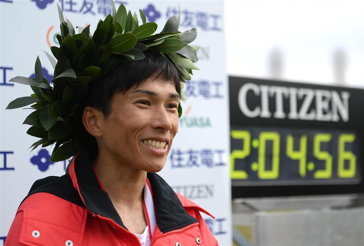 鈴木「自分が一番びっくり」 びわ湖毎日で日本新、パリへ期待膨…