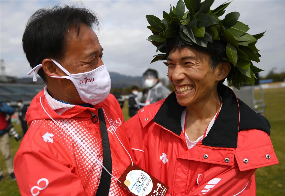 快挙達成支えた膨大なトレーニング びわ湖毎日で日本新の鈴木