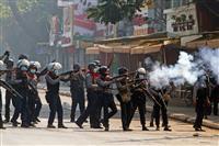 ミャンマー抗議デモで5人死亡 治安部隊銃撃、死者計8人に