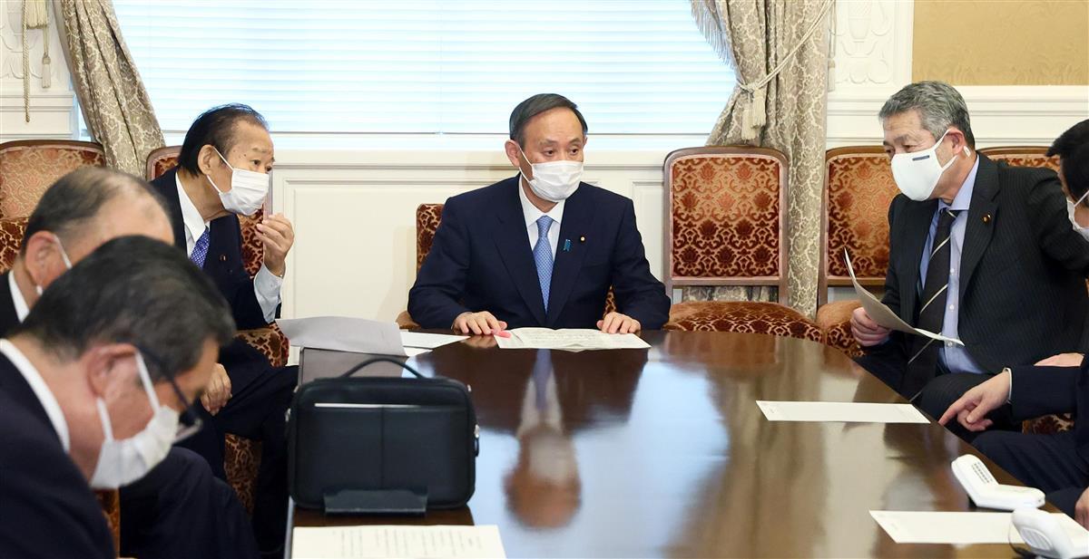 首相、1都3県の緊急事態宣言解除「ぎりぎりまで見極め判断」