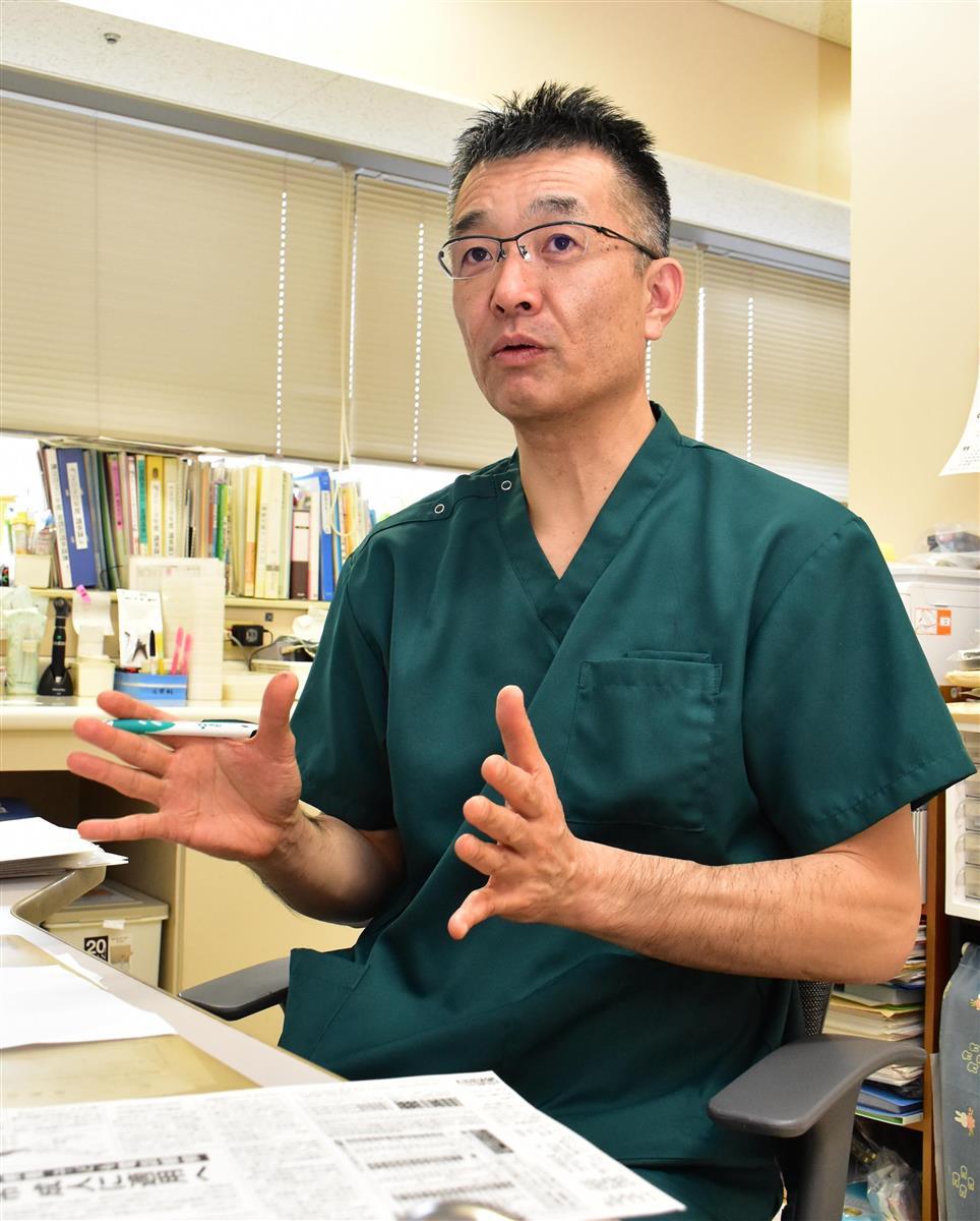 【しずおか・このひと】静岡厚生病院の小児科医、田中敏博さん(53)コロ…