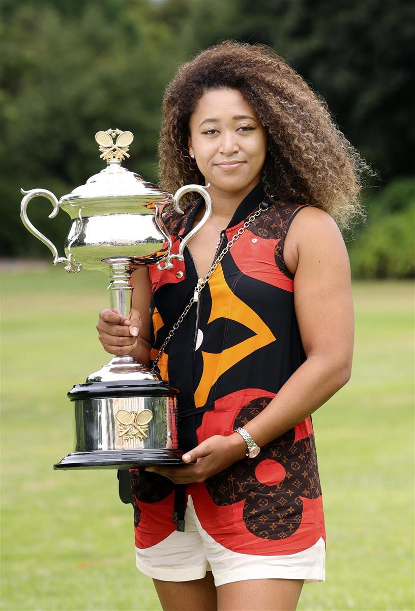 大坂は2位で変わらず 女子テニスの1日付世界ランク
