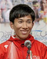 男子マラソンの鈴木、日本記録から一夜明け「少しずつ実感」
