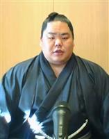 先場所優勝の大栄翔、「三役復帰目標だった。まずは勝ち越し目指す」 大相撲春場所番付発表
